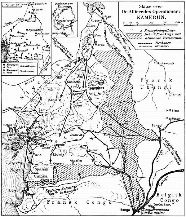 Afrika Den Store Krig 1914 1918
