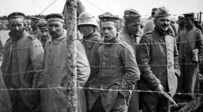 26. oktober 1918. Krigsfange på hospitalsarbejde i Tours