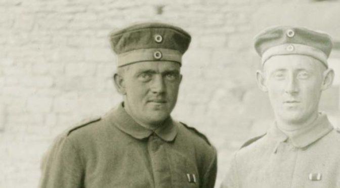 """7. september 1918 – Thomas Brodersen: """" jeg blev saaret Kl 9¾"""""""