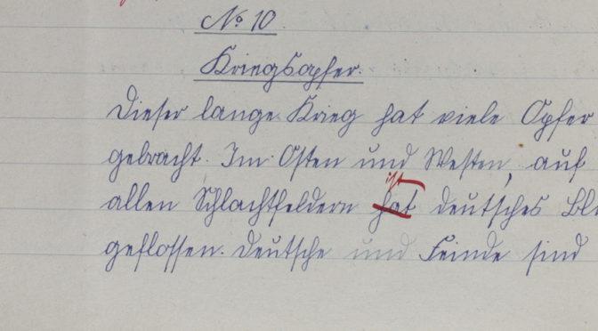 "24. oktober 1918 – Marie Cosmus: ""Kriegsopfer"""