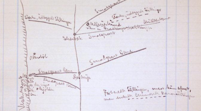 """10. september 1918 – Fra Efterretningssektionens journal: """"dänisch-deutsche"""" eller """"deutsche"""""""