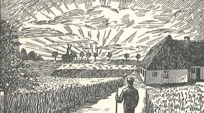 14. september 1918. Desertøren A.P. Andersen skræmmer livet af en ældre dame