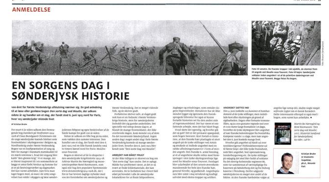 """""""Den sorte dag ved Moulin-sous-Touvent"""" anmeldt i """"Grænsen"""""""