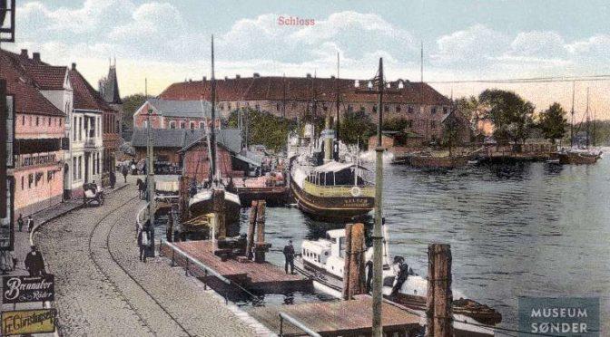 21. december 1918. Nis Ley vender hjem til Kegnæs