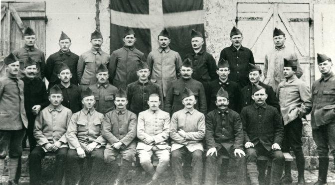14. januar 1919. Hans Peter Hansen keder sig i Aurillac