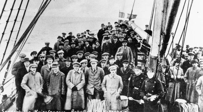 25. juli 1919. Festmiddagen for de sønderjyske krigsfanger i går aftes