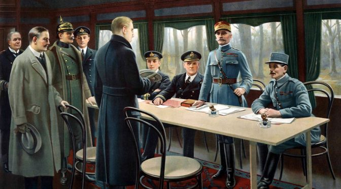 Tre foredrag i Sønderborg om Første Verdenskrigs afslutning