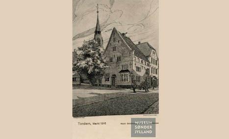 9. juli 1920. Skandale afværget: Tyske i Tønder opfordrer til at flage med tyske flag, når kongen kommer