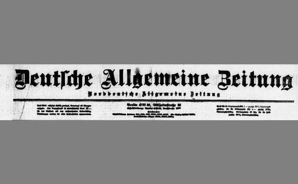 7. januar 1919. Den tyske rigsregering vil på en ærlig og loyal måde vil gennemføre den fri selvbestemmelsesrets princip i Nordslesvig