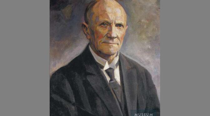 """9. februar 1919. Møde i Vælgerforeningen: """"Peter Grau rørte de fleste til Taarer"""""""