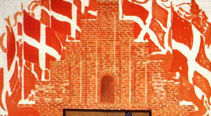 29. september 1919. Folk strømmer til dansk møde i Flensborg