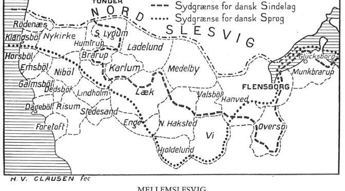 20. februar 1919. Den danske regering indbringer det slesvigske spørgsmål for fredskonferencen