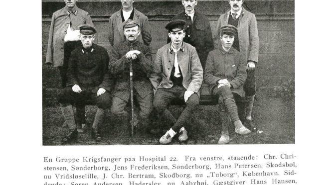 """23. marts 1919. Hans Petersen på vej hjem: """"Krigen er Vanvid, grufuld, umenneskelig"""""""