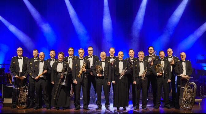 Gratis koncert med SMUK på Sønderborg Slot: Slesvigske Musikkorps' koncert fra højtideligheden i Braine gentages