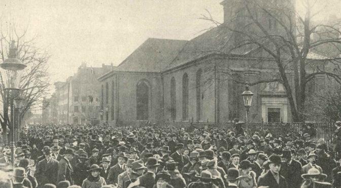 16. Marts 1919 – Sønderjydernes første dage i København