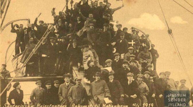 24. juli 1919. Så kom sønderjyderne endelig til Vejle!