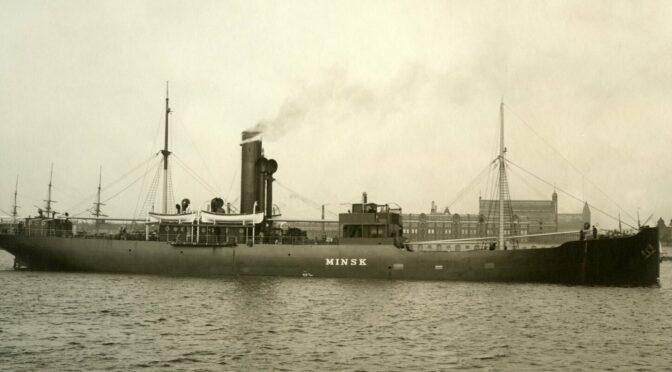 11. oktober 1919. Fem danske Civilfangers Eventyr