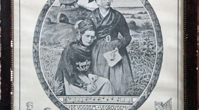 14. maj 1919. De sønderjyske Piger. Hvorledes det berømte billede blev til.