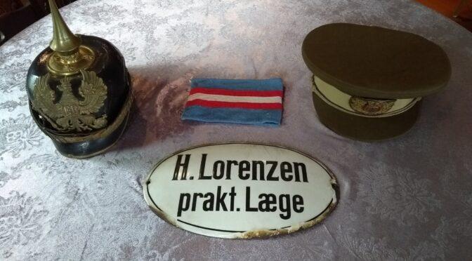 Udstilling om læge Hans Lorenzen på Oldemorstoft (Bov Museum)
