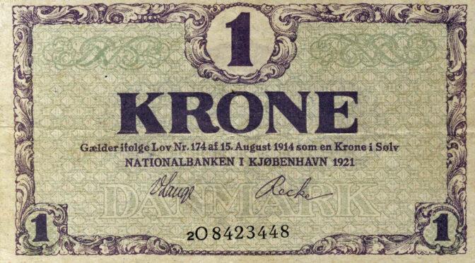 27. juli 1919. Et tilbud, han ikke kunne afslå: Meget indviklede konverteringsregler!