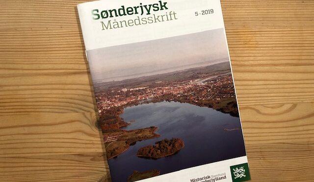 Sønderjysk Månedsskrift med to historier om Første Verdenskrig