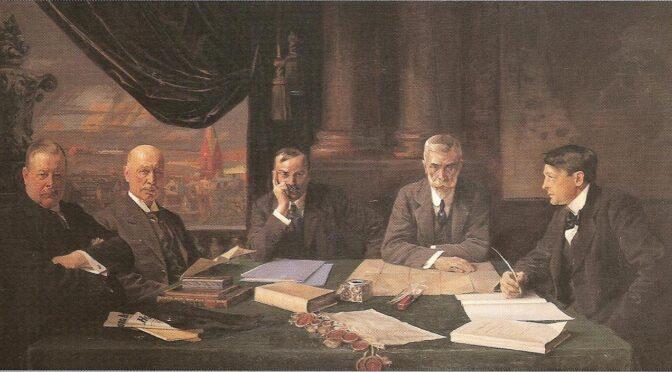 30. august 1919. CIS-delegation forbereder afrejse til Flensborg