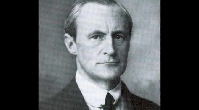 20. august 1919. Grev Bent Holstein om rømningen