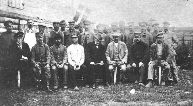 7. oktober 1919. Billeder fra sønderjydernes liv i det fjerne østen.