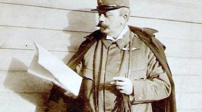 """21. januar 1920. De franske alpejægere ankommer til Sønderborg: """"Der var et par tyske flag på halv stang."""""""