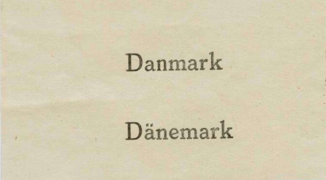 10. februar 1920. Afstemning i Traasbøl med dans til den lyse morgen