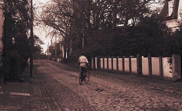 9. februar 1920. På cykel til Ribe for at skaffe Dannebrogsflag til Burkal sogn