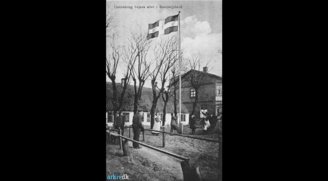 """10. februar 1920. Afstemningsdagen i Skærbæk: """"Nu er Frihedens, Hjemfærdens Dag kommen."""""""