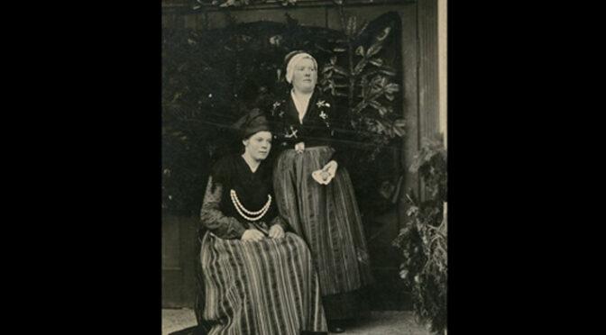 8. februar 1920. Fest på folkehjem med sang og tableauer