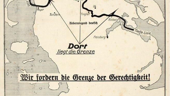 20. marts 1920. Tyskerne har fremsat deres grænsesyn til kommissionen.