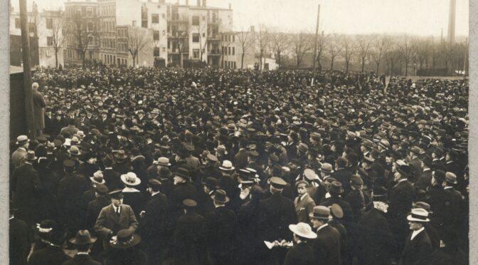 8. marts 1920. Johannes Christensen: hans tale var kun luft