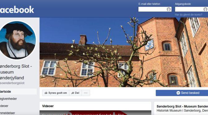 Er du på Facebook? Så hjælp os med at få besøgende i denne lukketid