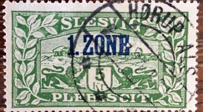 18. maj 1920. Pengesedler, porto og frimærker i 1. zone