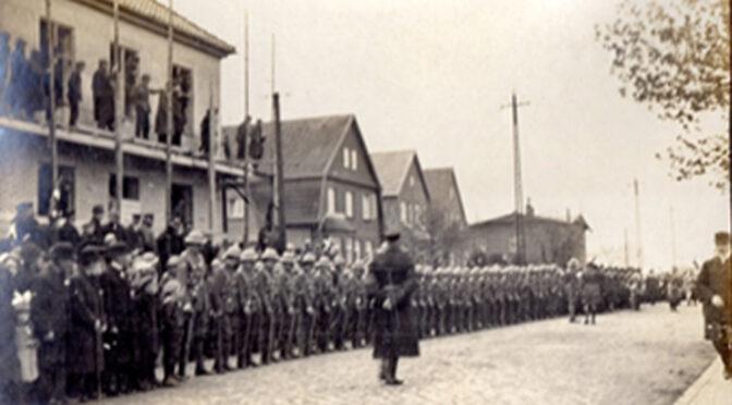 5. maj 1920. Danske soldater ankommer til Tønder