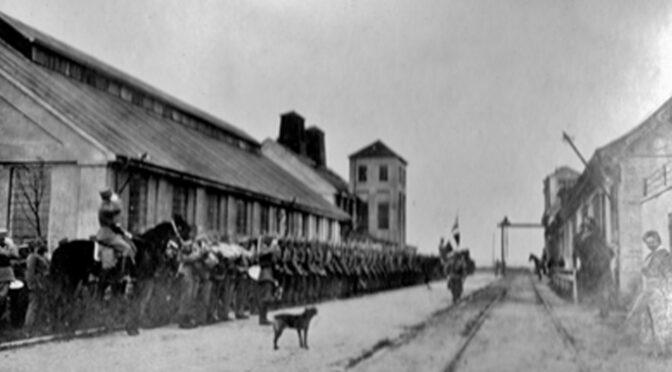 24. maj 1920. Voldelige sammenstød mellem civilister og danske soldater i Tønder!