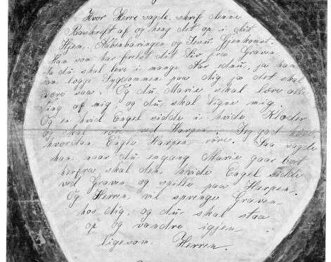 "22. Juni 1920. ""Jeg gad höre, hvordan Engle Harpen röre."""