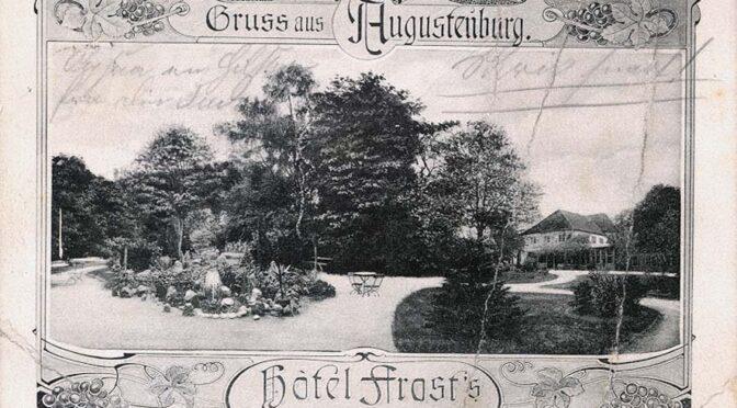7. juli 1920. Øvelse af nationaldans på Augustenborg