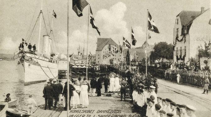 11. juli 1920. Kongeskibet kommer!