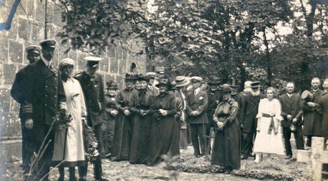 15. juli 1920. Med kongens følge til Rødekro og Agerskov