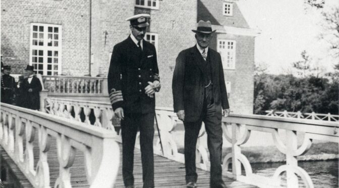 15. juli 1920. Med kongen i Toftlund, Højrup, Arnum, Tiset og Gram