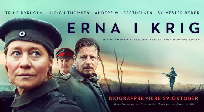 """Filmen """"Erna i krig"""" får fine anmeldelser"""