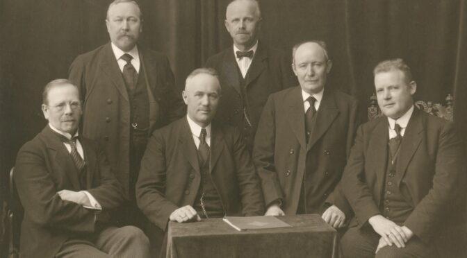 5. oktober 1920. Første rigsdagssamling med sønderjyske parlamentarikere