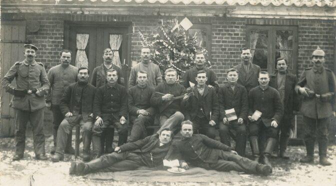 16. december 2020. Julekort fra Første Verdenskrig
