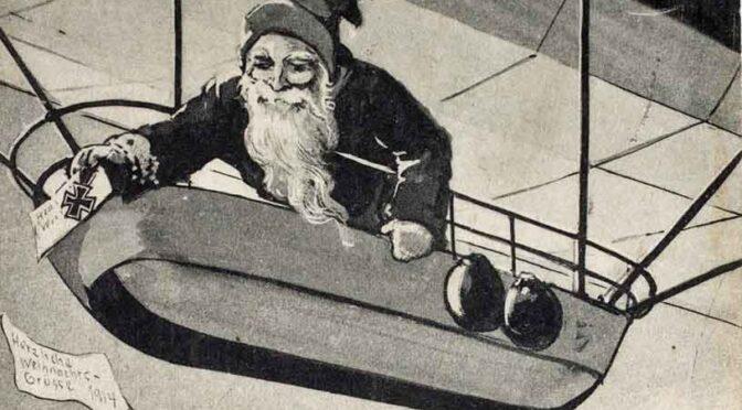4. december 2020. Julekort fra Første Verdenskrig