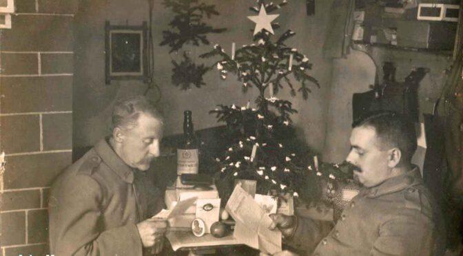 6. december 2020. Julekort fra Første Verdenskrig