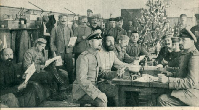 10. december 2020. Julekort fra Første Verdenskrig